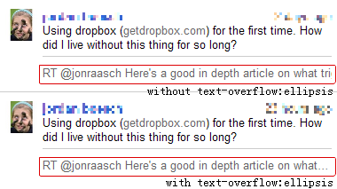 Buzz Text-overflow